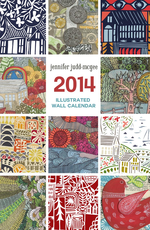 jennifer judd-mcgee calendar 2014