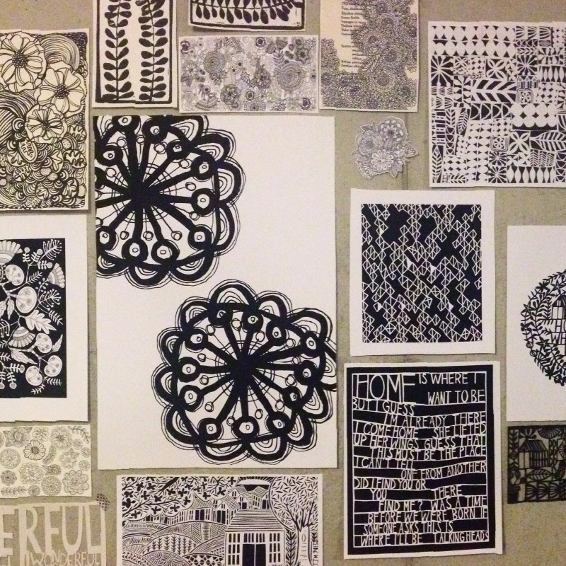 jennifer judd-mcgee studio wall